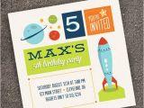Rocket Ship Birthday Party Invitations Reserved Rocket Ship Party Invitation by Twopoochpaperie