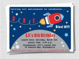 Rocket Ship Birthday Party Invitations Unavailable Listing On Etsy
