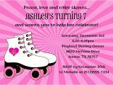 Roller Skating Invitations for Birthday Party Roller Skating Birthday Invitations Ideas Bagvania Free