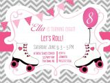 Roller Skating Invitations for Birthday Party Skating Party Invitations Party Invitations Templates