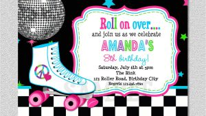 Roller Skating Party Invitation Template Free Download Free Template Free Printable Roller Skating