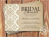Room to Room Bridal Shower Invitations Shabby Chic Bridal Shower Invitations