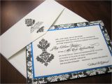 Royal Blue and Black Wedding Invitations Royal Blue Wedding Invitation A Vibrant Wedding