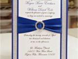 Royal Blue and Black Wedding Invitations Stunning Royal Blue Silver Glitter Wedding by