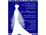Royal Blue Bridal Shower Invitations Bridal Shower Invitations Bridal Shower Invitations Royal