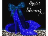 Royal Blue Bridal Shower Invitations Royal Blue Bridal Shower Invitation Zazzle