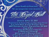 Royal Party Invitation Template Royal Ball Invitation Wording Google Search Fonts and