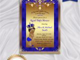 Royal Prince Baby Shower Invitations Prince Baby Shower Invitation Little Prince Royal Baby Boy