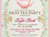 Royal Tea Party Invitation Template High Tea Invitation for Kitchen Tea Tea by