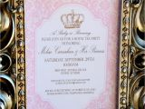 Royal Tea Party Invitation Wording Crown Party Invitation Royal Tea Party Girls by Krownkreations
