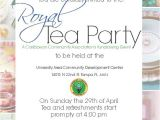 Royal Tea Party Invitation Wording Royal Tea Party On Behance