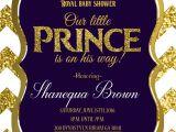 Royal themed Party Invitations Royal Baby Shower Invitation Royal Prince Gold Royal