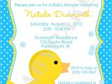 Rubber Duck Baby Shower Invites Rubber Ducky Baby Shower Invitations