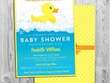 Rubber Ducky Baby Shower Invites Rubber Duck Baby Shower Invitation Printable Rubber Ducky