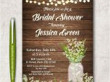 Rustic Bridal Shower Invitation Templates 14 Printable Bridal Shower Invitations Examples