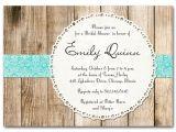 Rustic Bridal Shower Invitations Etsy Bridal Shower Invitation Rustic Vintage Gender Neutral Baby