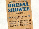 Rustic Bridal Shower Invitations Etsy Rustic Country Bridal Shower Invitation by Invitinginvites