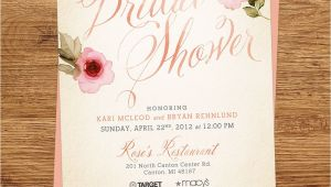 Rustic Bridal Shower Invitations Vistaprint Rustic Bridal Shower Invitations Vistaprint Mini Bridal