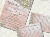 Rustic Bridal Shower Invitations with Recipe Cards Rustic Bridal Shower Invitations and Recipe Cards