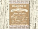 Rustic Bridal Shower Invitations with Recipe Cards Rustic Wedding Bridal Shower Invitation and Matching