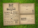 Rustic Wedding Invitation Templates Vintage Bells and Co Vintage Rustic Style Wedding