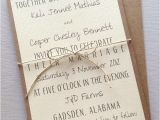Rustic Wedding Invitations Etsy Rustic Modern Wedding Invitations by Lemoninvitations On Etsy