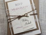 Rustic Wedding Invitations Etsy Rustic Wedding Invitation Lace Wedding by Loveofcreating
