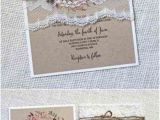 Rustic Wedding Invitations Under $1 Personalized Rustic Vintage Lace Wedding Invitations