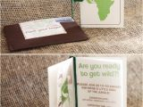 Safari Passport Baby Shower Invitations Wild Jungle Safari themed Baby Shower Hostess with