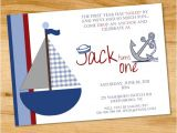 Sailboat Invitations Birthday Party Ships Ahoy A Boys Nautical Party B Lovely events