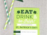 Saint Patrick S Day Party Invitations Printable St Patrick 39 S Day Invite