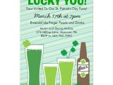 Saint Patrick S Day Party Invitations St Patricks Day Celebration Party Invitations 5 Quot X 7