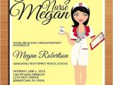 Same Day Graduation Invitations Nursing Pharmacist Medical Degree Graduation Party