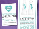 Same Sex Bridal Shower Invitations 51 Best Wedding Invitations Images On Pinterest