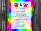 Same Sex Bridal Shower Invitations Printable Same Wedding Bridal Shower by