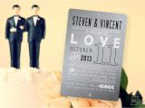 Same Sex Marriage Wedding Invitations for Same Sex Couples Looking to Make A Statement Marriage