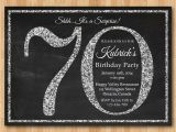 Sample 70th Birthday Invitation Wording 70th Birthday Party Invitations