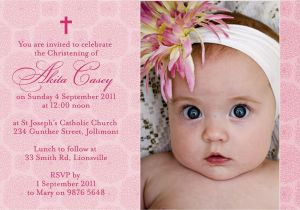 Sample Baptism Invite Sample Invitation Baptism Best Baptism Invitation