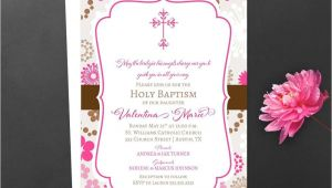 Sample Baptismal Invitation Card Designs Baby Shower Christening Invitation Card Sample Card