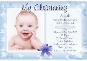 Sample Baptismal Invitation Card Designs Baptism Invitation Baptism Invitations for Boys New