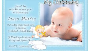 Sample Design Of Baptismal Invitation Free Christening Invitation Template