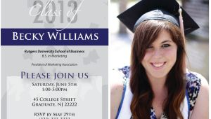 Sample High School Graduation Invitations Items Similar to Custom Graduation Invitations College
