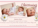 Sample Invitation Card for Baptism Christening Invitation Cards Christening Invitation