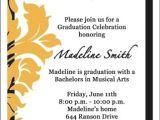 Sample Invitation Card for Graduation Ceremony Invitation Card Graduation Ceremony Purplemoon Co