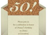 Sample Invitation for 50th Birthday Party 50th Birthday Invitations Wording Samples