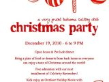 Sample Invitation for A Christmas Party Christmas Party Invitation Letter Fun for Christmas