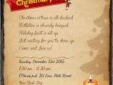 Sample Invitation for A Christmas Party Christmas Party Invitation Wording 365greetings Com