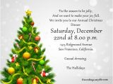 Sample Invitation for A Christmas Party Christmas Party Invitation Wordings Wordings and Messages
