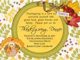 Sample Invitation for Thanksgiving Party Thanksgiving Dinner Invitation Wording