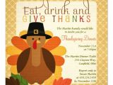 Sample Invitation for Thanksgiving Party Thanksgiving Lunch Invitations – Festival Collections